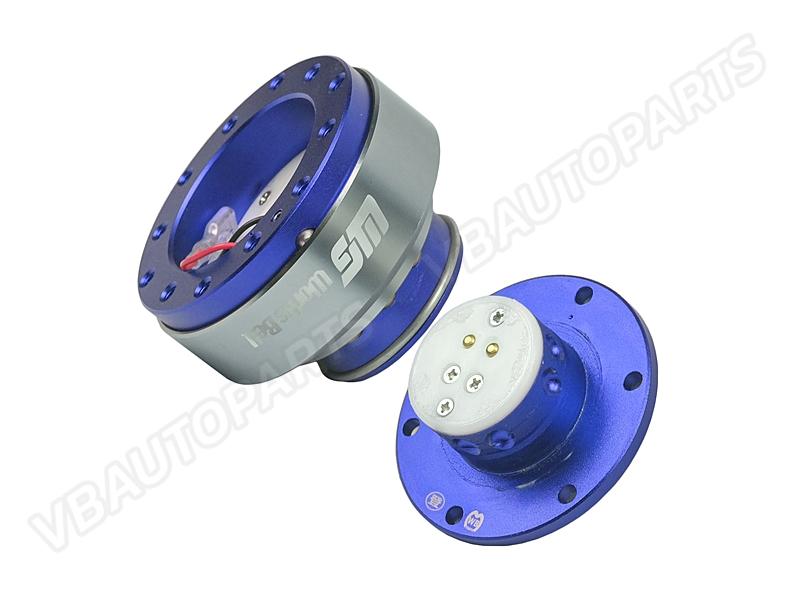คอถอดพวงมาลัย worksbell(BLUE)