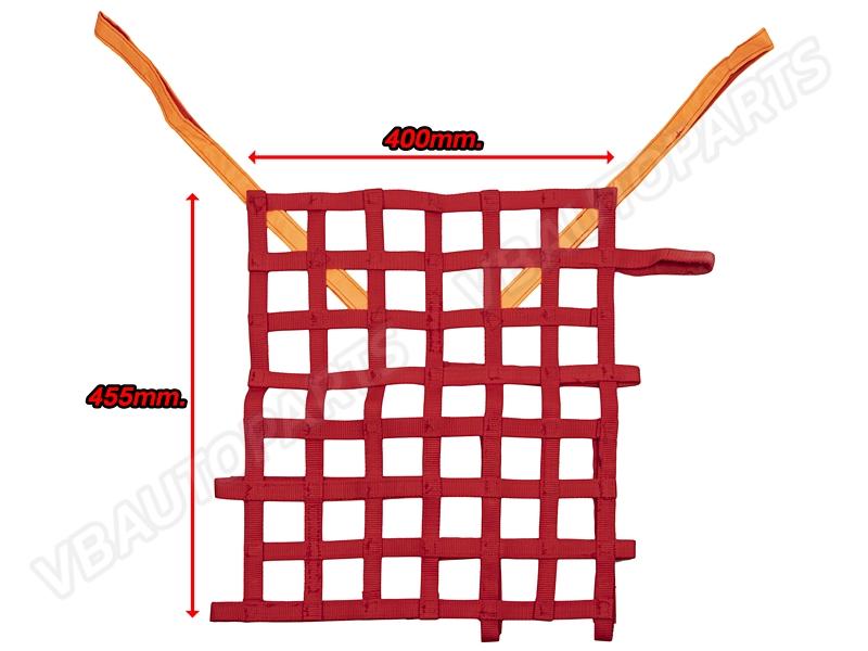 ตาข่ายกระจกนิรภัย Sparco(RED-V.2)