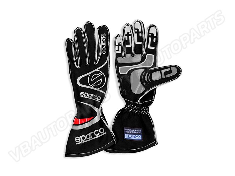 ถุงมือ Sparco ขนาด M(BLACK)