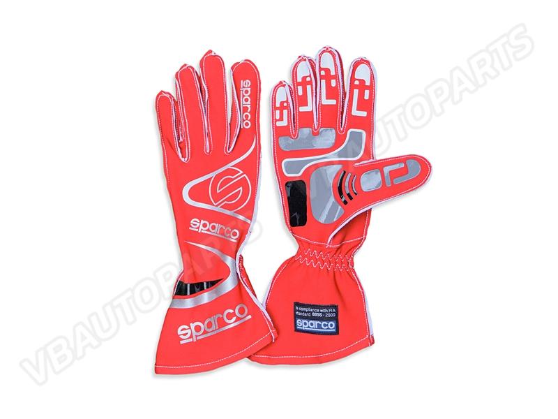 ถุงมือ Sparco ขนาด L(RED)
