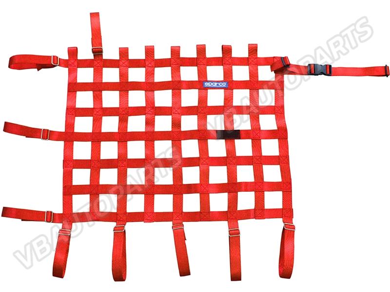 ตาข่ายกระจก Sparco(Red)(Red)