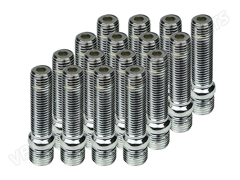 น็อตสตัทเหล็ก Billion 58mm. 20Pcs(M14x1.5 Out M12x1.5)